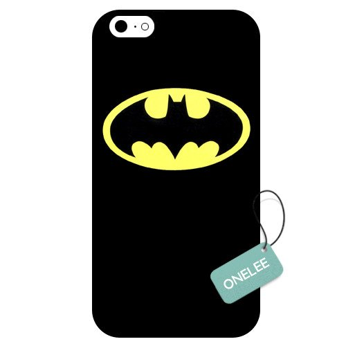 Onelee(TM) - Batman iPhone 6 Case & Cover -Batman&Yellow Logo iPhone 6 Case at Gotham City Store