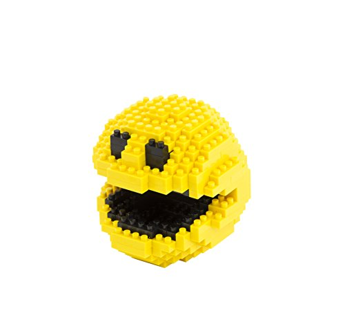 Paladone Pacman Pixel Bricks, 6 cm tall, 289 Pieces