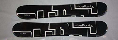 Skiboards 540 Ski boards TITAN 75cm with Tyrolia SL100 Bindings set New