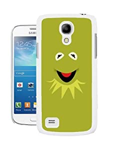 COVER FOR SAMSUNG S4 MINI i9190 MUPPETS KERMIT FACE FUN PHONE CASE & SCREEN PROTECTOR - WH-T355