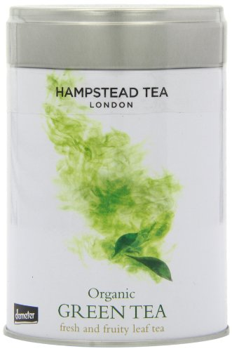 Hampstead Organic Green Loose Leaf Tea In Tins 100 g
