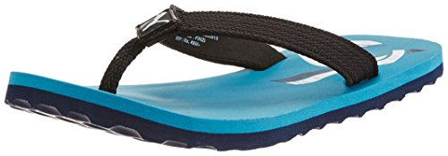 Puma Boy's Wave Jr DP. Capri Breeze-Peacoat-White Mesh Flip Flops and House Slippers - 1C UK  available at amazon for Rs.334