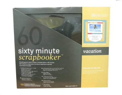 175 Piece 60 Minute Scrapbooker in Vacation Theme