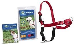 PetSafe Easy Walk Harness,  Medium, RED/BLACK for Dogs