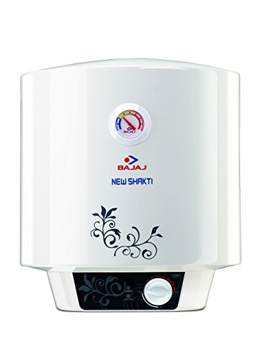 Bajaj New Shakti GL 10-Litre Water Heater (White)