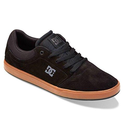Dc Men'S Crisis Sneaker,Black/Gum,7.5 M Us front-1050949