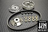マジェスティ250 マジェスティー250/4HC,5CG,5SJ,5GM プーリー ベルト Vベルト ウエイトローラー CVT補修プーリーベルトキット お買得セット
