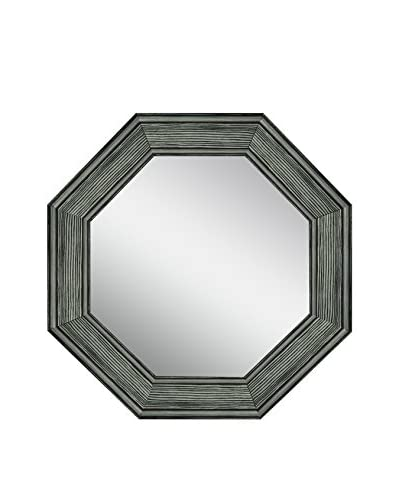 PTM Images Octagon Reclaimed Wood Mirror