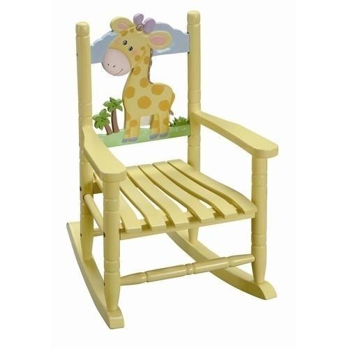 New Teamson Kids W-8339A Indoor Wooden Rocking Chair For Kids