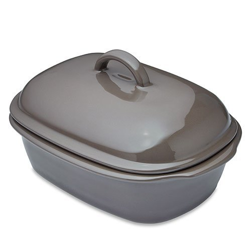 Pampered Chef Deep Covered Baker Sandstone Color