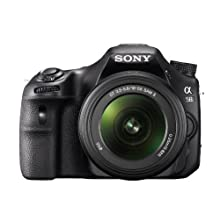 Sony A58 Camera With18-55mm Lens With Camera Case