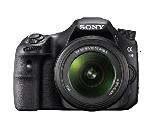 Sony SLT-A58K Digital SLR Kit with 18-55mm Zoom Lens, 20.1MP SLR Camera with 3-Inch LCD Screen (Black)
