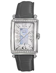 Gevril Women's 7247NT.7A Blue Mother-of-Pearl Genuine Alligator Strap Watch