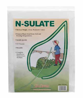 De Witt Ns12 Fabric N Sulate Plant Protection, 10-Feet, 1.5-Ounce