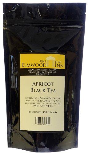 Elmwood Inn Fine Teas, Apricot Black Tea, 16-Ounce Pouch