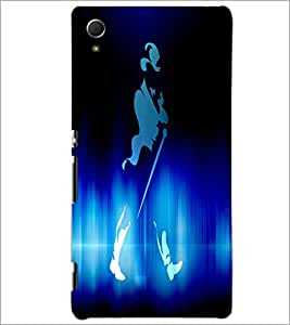 PrintDhaba Jhony Walker D-3442 Back Case Cover for SONY XPERIA Z4 (Multi-Coloured)