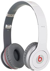 Beats SOLO HD HeadPhone by Dr.Dre-Drenched White