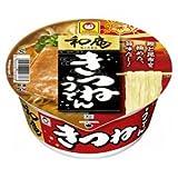 東洋水産 マルちゃん 和庵(なごみあん)きつねうどん(西)85g×12個入