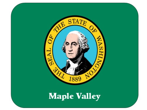 Maple Valley, Washington Mouse Pad