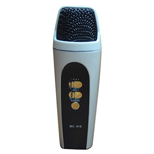 Newest Universal Handheld Cellphone Mic Microphone For Ios Devices Different Colors-White