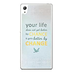 a AND b Designer Printed Mobile Back Cover / Back Case For Sony Xperia Z4 (SON_Z4_2518)