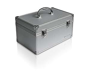 """Icy Box IB-AC626 Boîtier en aluminium pour disque dur 2,5""""/3,5'' Argent"""