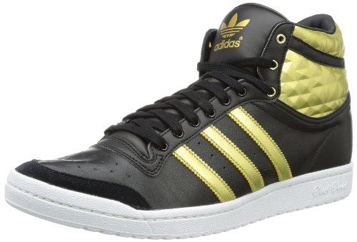 adidas Originals  TOP TEN HI SLEE,  Sneaker a collo alto donna, Nero (Schwarz (BLACK1/METGO)), 40 2/3