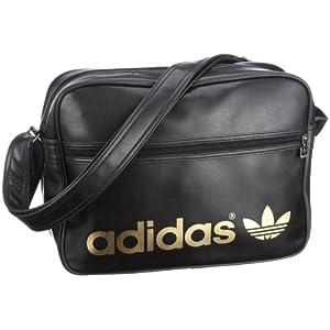 Adidas AC Airline Bag in Black Metallic Gold best buy 681441b671648