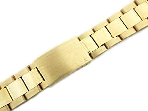 Mens 14ky Oyster Watch Band for Rolex 19mm Date