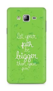 AMEZ let your faith be bigger than your fear Back Cover For Samsung Galaxy ON7