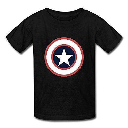 AOPO Captain America LOGO T Shirt For Kids Unisex