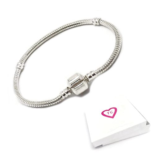 18cm Silver Charm Bracelet For Pandora Style