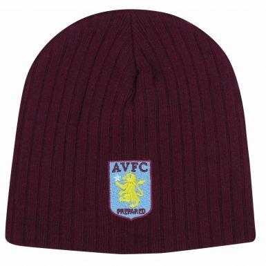 Aston Villa Crest Berretto a coste