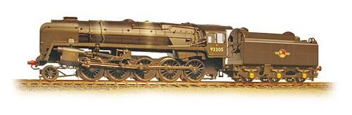 Graham Farish WD Austerity Class 90201 BR Black Late Crest - Weathered