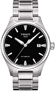 Tissot Men's T060.407.11.051.00 Black Dial T Tempo Watch