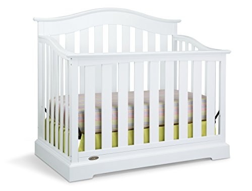 Graco Westbrook 4-in-1 Convertible Crib, White