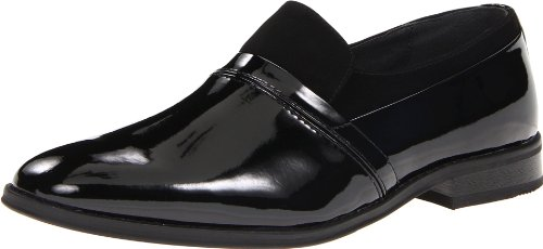 Giorgio Brutini Men's 175891 Luxore Slip On,Black,11 D (M) US