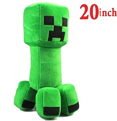 20 Minecraft Creeper Character Plush Soft Toy Stuffed Animal Doll Monster from MC