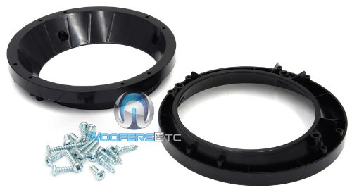 "Arc Audio 6.5"" Speaker Adapter Rings For Harley Davidson"