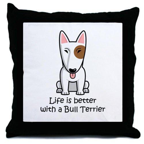CafePress-Bull Terrier-Cuscino Throw Pillow, cuscino decorativo Accent,