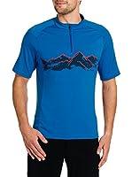 VAUDE Camiseta Manga Corta (Azul)