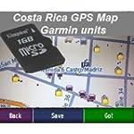 Costa Rica GPS Map for Garmin Units (...