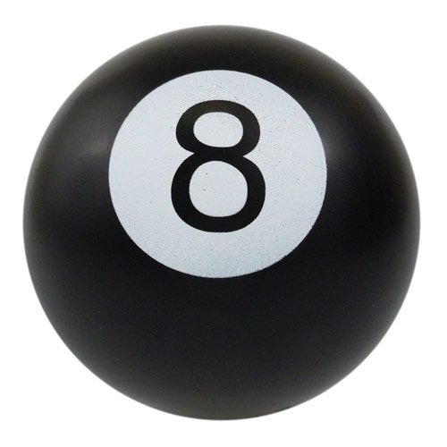 8 Ball Foam Stress Ball - 1
