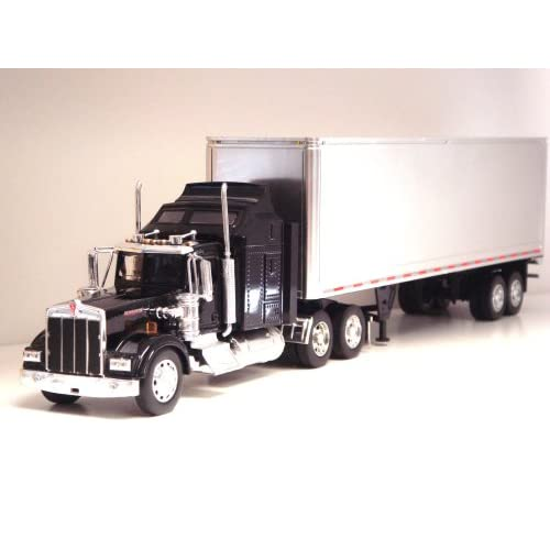 Toy Tractor Trailer Trucks : Die cast tractor trailer semi trucks replica scale model