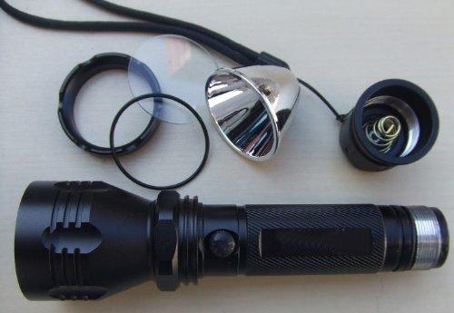 Hossen® C6 Led 800Lm Rechargeable Flashlight Torch