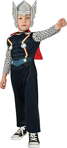 Boys Thor Toddler Kids Child Fancy Dress Party Halloween Costume
