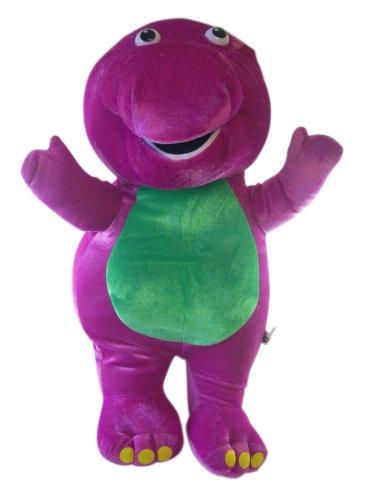 Barney The Dinosaur Plush - 18 Inch Stuffed Animal Barney front-904459