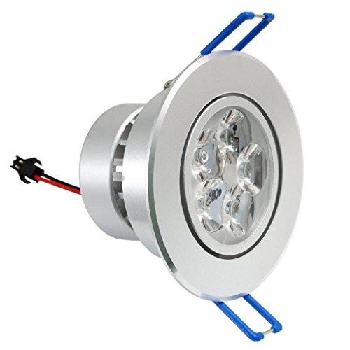 Dn Dimmable 110V 5X1W Leds Ceiling Light Downlight White Spotlight Lamp Recessed Lighting Fixture