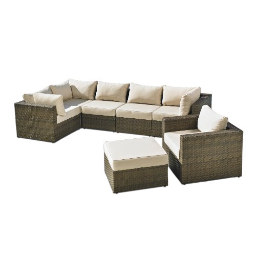 Mission Hills San Clemente 7-Piece Deep Seating Patio Set picture