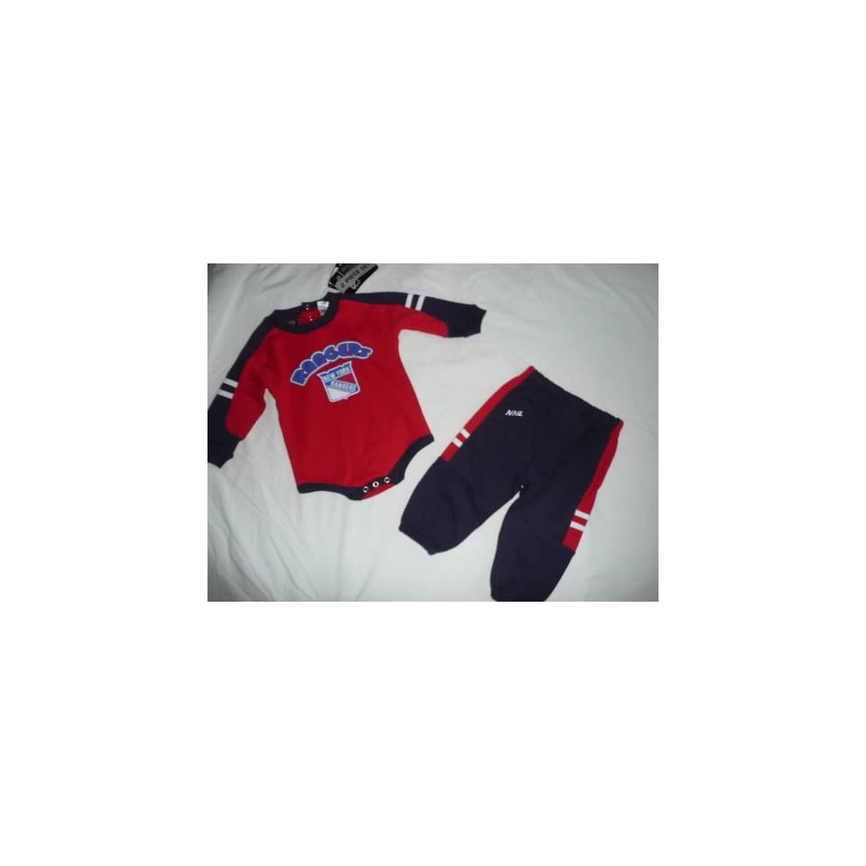 NEW York Rangers Baby Infant 2 pc onesie pants 12 Month on PopScreen d7f12778b